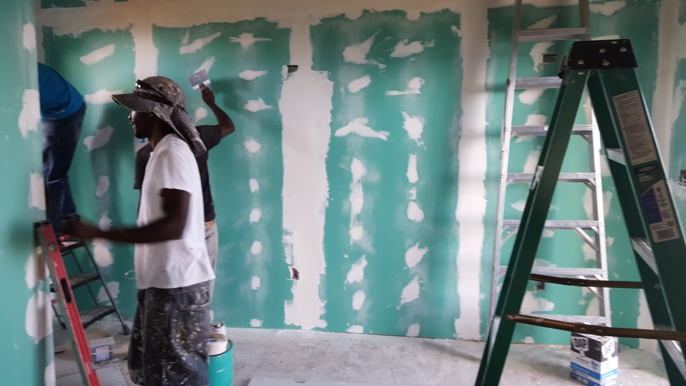 SEA Sisterhood Empowerment Academy drywall